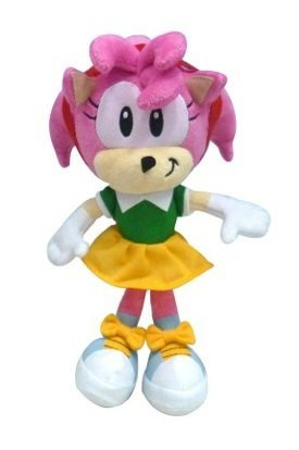 Sonic The Hedgehog 18cm Amy Rose Plush Toy By Sonic The Hedgehog By Sonic The Hedgehog Shop Online For Toys In Australia