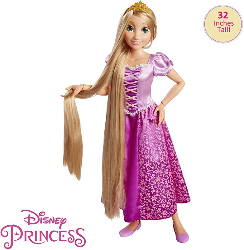 Dispatched From UK DSNY Rapunzel Disney Mini Styling Head Pink