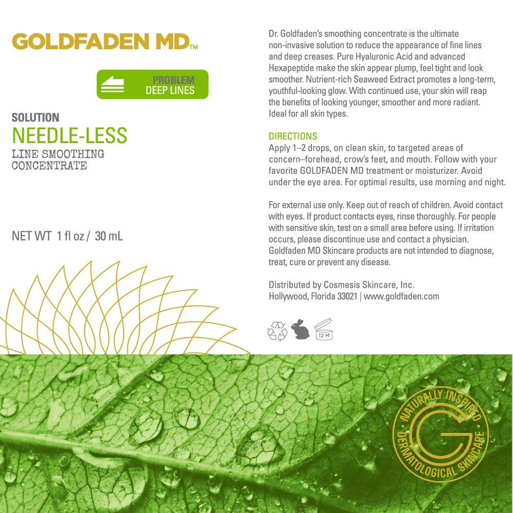 Goldfaden Md Needle Less Line Smoothing Concentrate 30ml By