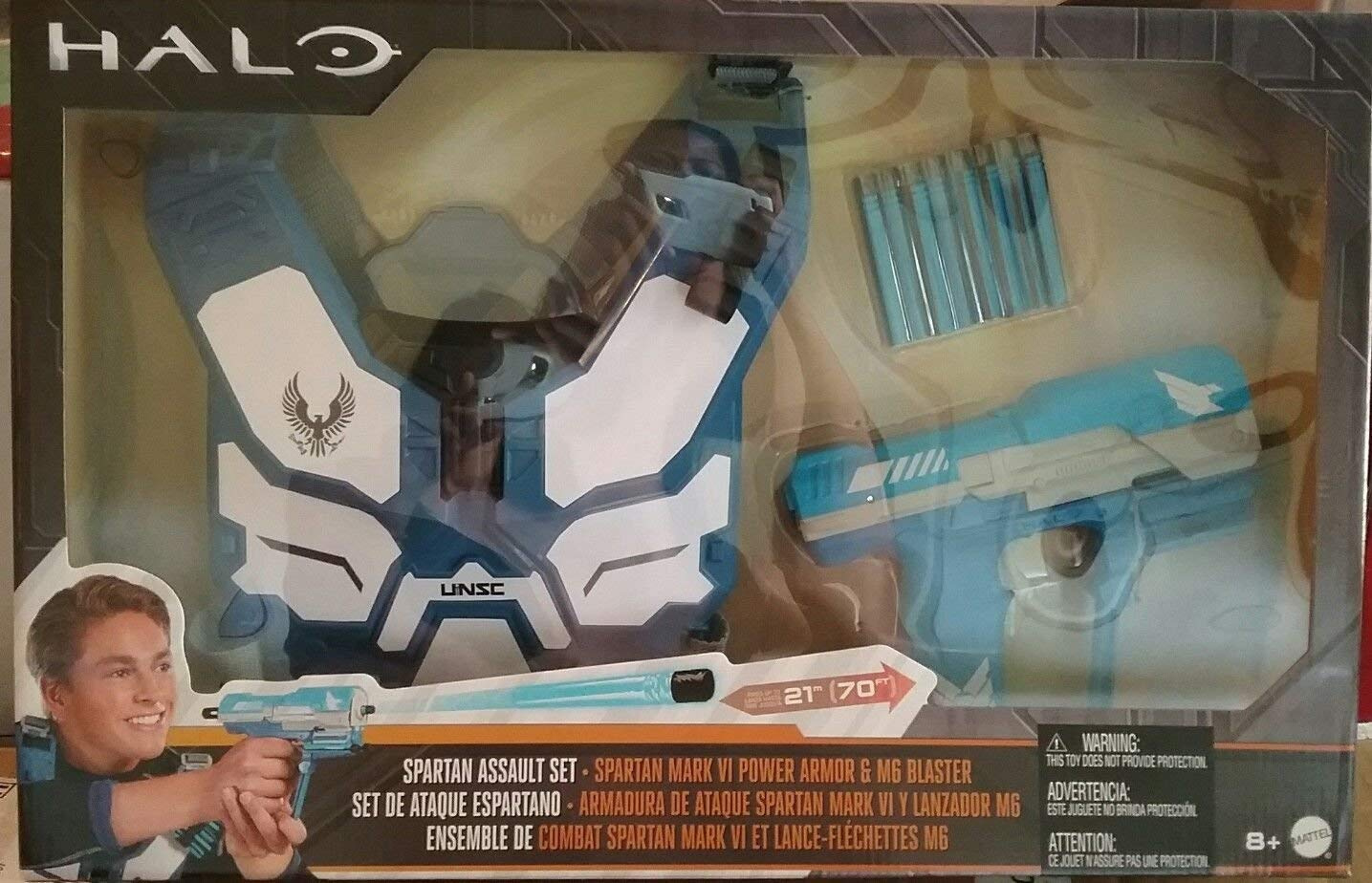 RED NEW BoomCo HALO UNSC Spartan Assault Armor Pack Battle Gear Set