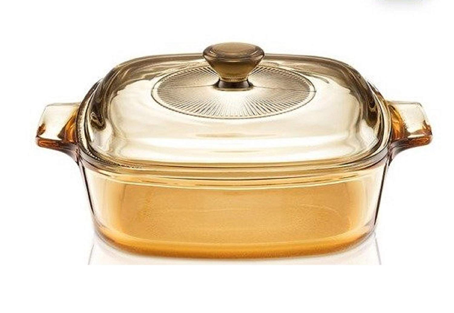 Visions Reverse 1l 0 9l Square Multi Pot Glass Ceramics Kitchen Cookware Multipot Dutch Oven Stockpot Cook Stock Pot With Lid By Visions Shop Online For Kitchen In Australia