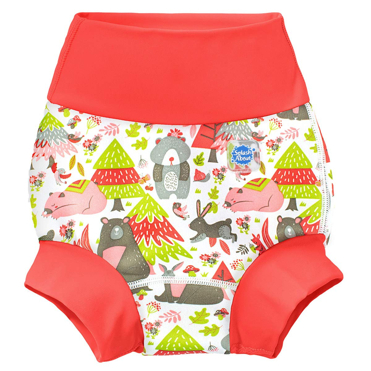 Splash About Baby Kids New Improved Happy Nappy,Multicoloured Dino Pirates ,12-24 months