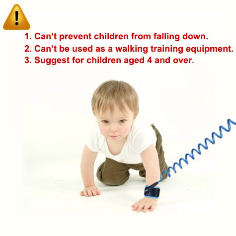 Blisstime Anti Lost Wrist Link Safety Wrist Link for Toddlers Babies /& Kids