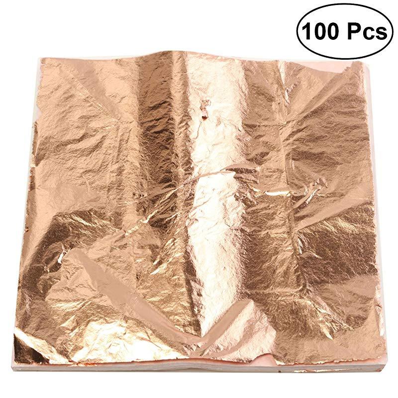 Genuine Copper Leaf 25 sheets Bling my shoes UK00003085705 Trademark...