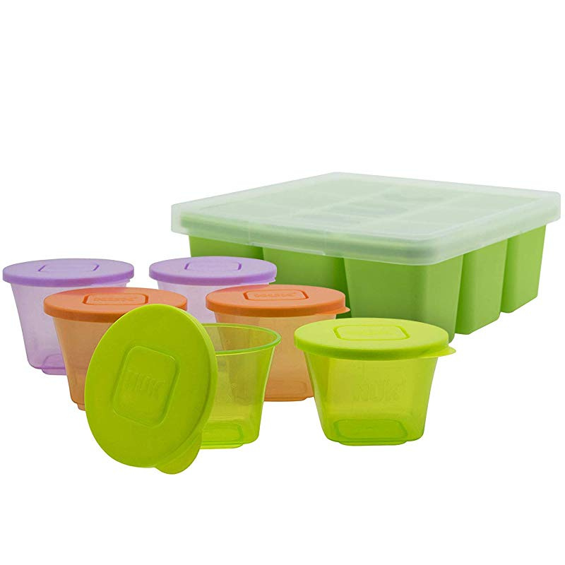 Annabel Karmel by NUK Frozen Baby Food Storage Container//Food Cube Freezer Tray