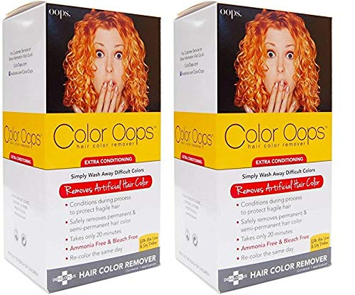 Colour Oops Hair Colour Remover Extra Conditioning 2pcs By Color Oops Shop Online For Beauty In Australia 3.7 out of 5 stars 291 ratings. colour oops hair colour remover extra conditioning 2pcs