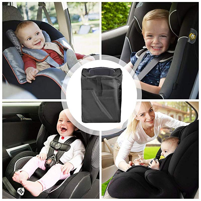 Carseat Canopy,Baby Bedding Hergon Newborn Baby Soft Cotton Car Seat Cover Baby Blanket