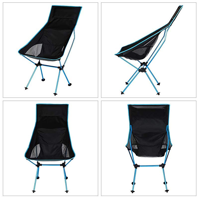 New Outdoor Hiking Camping Fishing Portable Folding Chair With 3 Legs Stool Seat