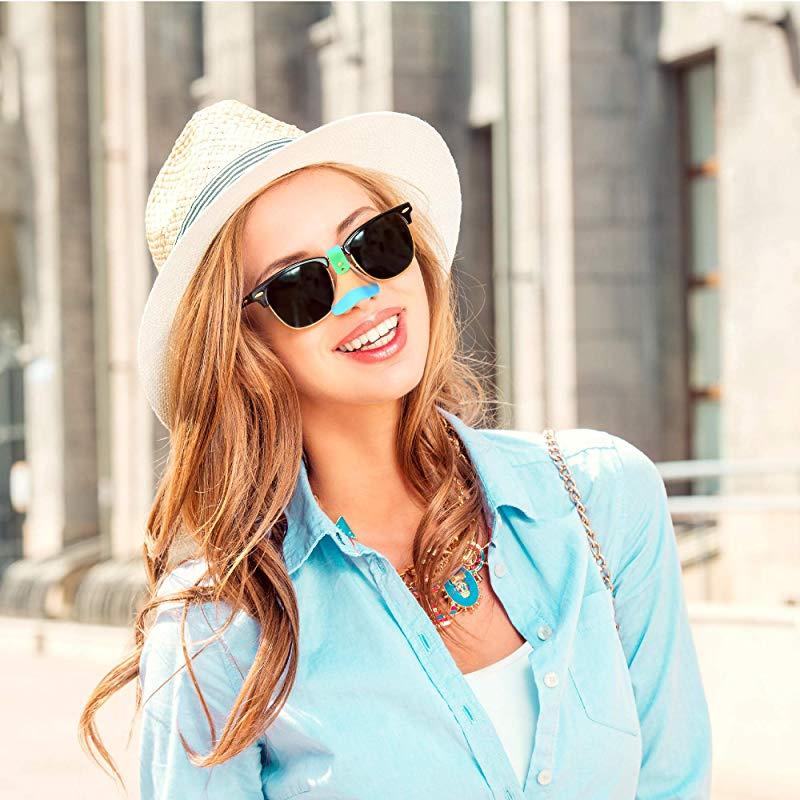 Sun Nose Guard UV Nose Guard Shield UPF50+ UV Nose Guard for Glasses Set of 3 Nose UV Guard Nose Sun Protection