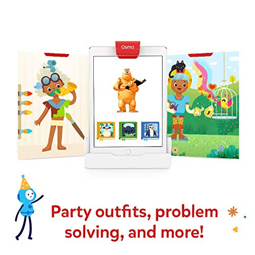 Stories /& Costume Party Fine Motor Skills Preschool Ages Includes 2 Games Ages 3-5 Little Genius Costume Pieces Following Along with Stories Empathy /& Creativity Critcal Thinking Osmo